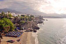 Nerja Playa Calahonda beach Andalusia Spain photograph picture poster art print