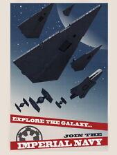 Imperial Navy Starfleet Propaganda Star Wars Movie Art Huge Print POSTER Affiche