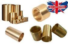 Bronze Bushings Washers Rings Bearing Bronze Cast Bushing Plain Sleeve Brass @UK