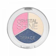 Divage Crystal Shine Ombretto Trio Luminoso 3g