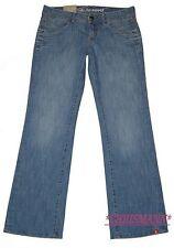 Esprit Jeans Joy NEU W29-W31 Long Damen Bootcut Hose Blau Used Edc L34 Loose Fit