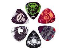 Boston BRP6-114 rock picks set 6 plettri in celluloide 1.14 mm per chitarra