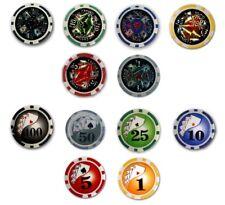 Poker Chips Casino Laser Oder Deluxe 50 ´er Auswahl