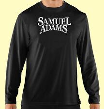 T-Shirt, Long Sleeve, Beer, Bar Staff, Club Promo, Sam Adams, Gildan 100% Cotton