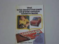 advertising Pubblicità 1974 NESTLE'