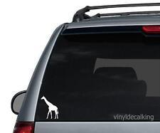 Giraffe Decal, Vinyl Truck, Boat, Hunting Window Stickers