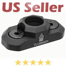 UTG PRO M-LOK Standard Rifle Quick Detach Sling Swivel Adaptor Aluminum Black