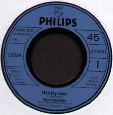 "JULIO IGLESIAS ~ UNA LEYENDA / MINUETO ~ 1974 GERMAN 7"" SINGLE"