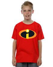 Disney Bambini e ragazzi The Incredibles 2 Costume Logo Maglietta