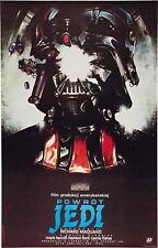 72513 STAR WARS Movie Return of the Jedi Empire Polish FRAMED CANVAS PRINT Toile