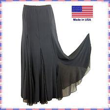 3754bk Brand New Ballroom Latin Salsa Tango Practise Dance Dress Skirt
