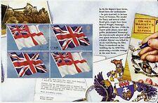 Gran Bretaña 2008 James Bond Fine Used Banderas folleto panel