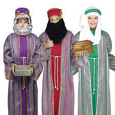 3 Wise Men Kids Christmas Nativity Fancy Dress Costume