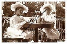 mm804 - Archduchesses Maria & Olga Romanov in 1906  - Royalty photo 6x4
