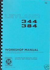 Leyland 344/384 Tractor Workshop Manual