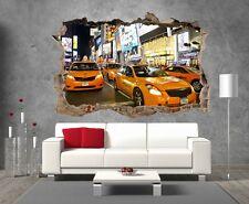 Aufkleber 3D Schein auge New York Taxi ref 23292 23292 Art deco Aufkleber