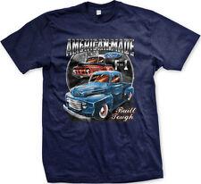 American Made Built Ford Tough F-150 Truck Car FREE SHIPPING New Mens T-shirt