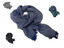 Sciarpa tinta unita sale pepe tubolare uomo casual blu melange nera grigia verde