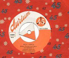 FLO SANDON'S disco 45 giri MADE in ITALY Pica y ripica + Canzone gitana
