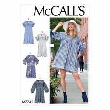 Free UK P&P - McCalls Sewing Pattern 7742 (McCalls-7742-M(FP))