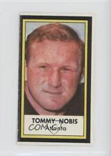 1971 1971-72 Dell Photos Posters #TONO Tommy Nobis Atlanta Falcons Football Card