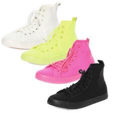 Zapatilla deportiva de Mujer Cordones deporte gimanasia Lona 36-41 NUEVO / 6710