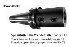 Spannfutter für Wendeplattenbohrer / Toolholder for drills with indexable insert