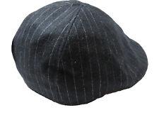 DOCKERS hommes laine mélangée blanc rayé noir ivoire chapeau