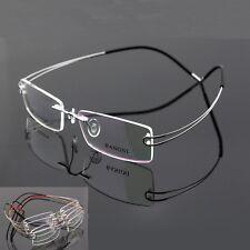 New Pure Beta Titanium Spectacles rimless flexible hingeless eyeglass frame T617