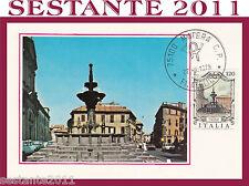 ITALIA MAXIMUM MAXI CARD 1979 VITERBO FONTANA GRANDE (260)