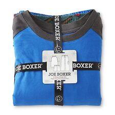$34.99 Joe Boxer Men's Pajama Shirt Pants & Shorts Lumberjack Size L XL 2XL 3XL