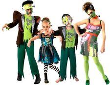 Adult + Child FRANK'NSTEIN MONSTER FAMILY Fancy Dress Frankenstein Monster Kit