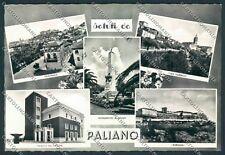 Frosinone Paliano Saluti da Foto FG cartolina D5367 SZD