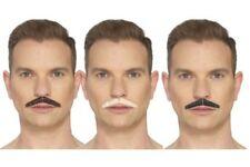 The Crayon Moustache hommes Accessoire Déguisement adhésif 3 couleurs