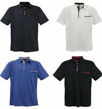 Señores camiseta polo 4 colores laveccia sobre tamaño-XXL-tamaños lv-1701