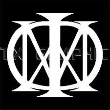 DREAM THEATER DECAL MAJESTY  VINYL STICKER MUSIC MUSICIAN METAL BAND