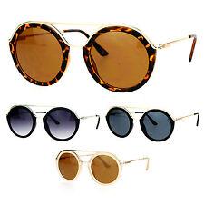 e668a84850 Multi-Color Gafas de Sol Retro Marco de Metal y plástico para ...