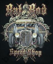 T-shirt #618 Conseil rod speed shop old school hotrod Dragster pin up v8 rockabilly