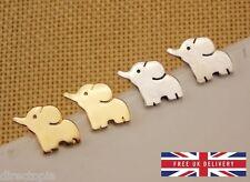 Cute Elephant Animal Stud Earrings Jewellery Kawaii & Gift Box