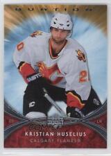 2007-08 Upper Deck Ovation #191 Kristian Huselius Calgary Flames Hockey Card