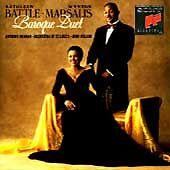 KATHLEEN BATTLE & WYNTON MARSALIS - Baroque Duet -(CD, Apr-1992, Sony )-NEW