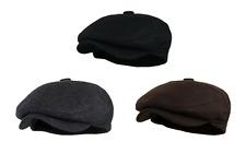 Men's 5 Panel Vintage Style Wool Blend Gatsby Ivy Newsboy Hat