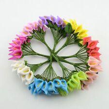 Mini Foam Artificial Calla Lillies- Lilly Wedding Scrapbook Craft Decoration Art