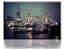 Wall Art Canvas Picture Print Tower Bridge London Framed