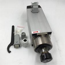 1.5KW Air Cooled Spindle Motor ER20 18000rpm 4Bearing 220V/380V CNC Woodworking