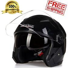 Motorcycle Helmet Jiekai Full Open Face Dual Visor Moto Racing Casco