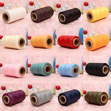 260M 150D 1MM Leather Sewing Waxed Wax Thread Hand needle Cord Craft DIY Ne O7N5