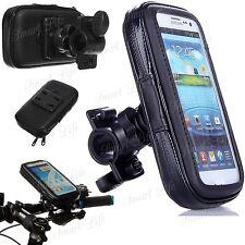 Mobile Bicycle Motor Bike Handle Bar Holder WaterProof Rain Case For Cell Phones
