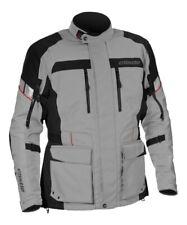 Castle Street Men's Distance Grey Waterproof Motorcycle Touring Adventure Jacket