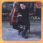 Yo-Yo Ma & Ton Koopman / Simply Baroque [Bonus Trks] (LIKE NW CD Sony Classical)